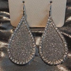 Bling Teardrop Earrings